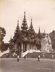 Entrance of Shwe Dagon Pagoda, Rangoon 7521026